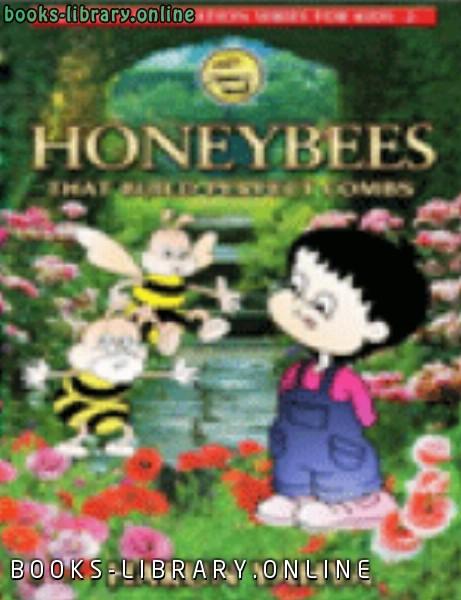 ❞ كتاب HONEYBEES THAT BUILD PERFECT COMBS ❝