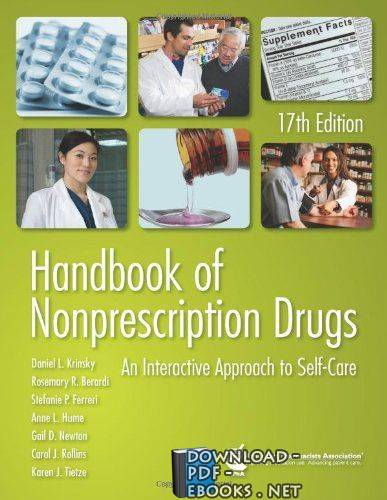 ❞ كتاب Handbook of Nonprescription Drugs 18 Ed ❝