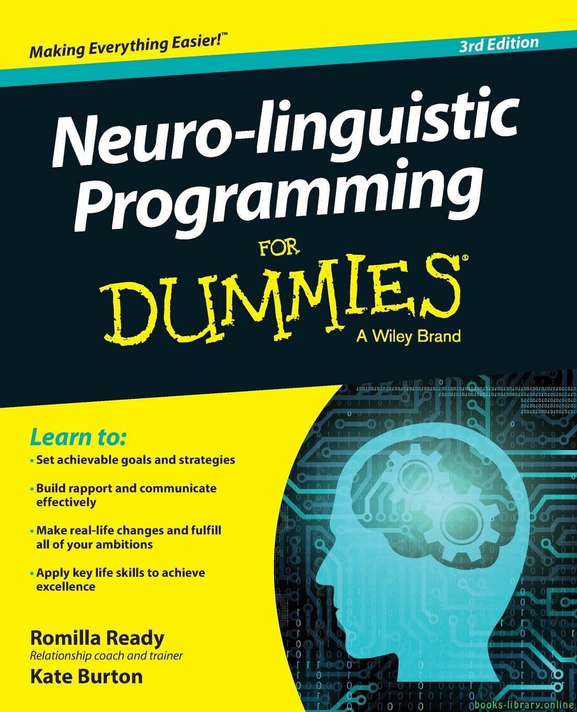 ❞ كتاب ملخص كتاب البرمجة اللغوية العصبية للبسطاء  ❝