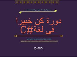 كتاب دورة كن خبيرا فى لغة C# pdf