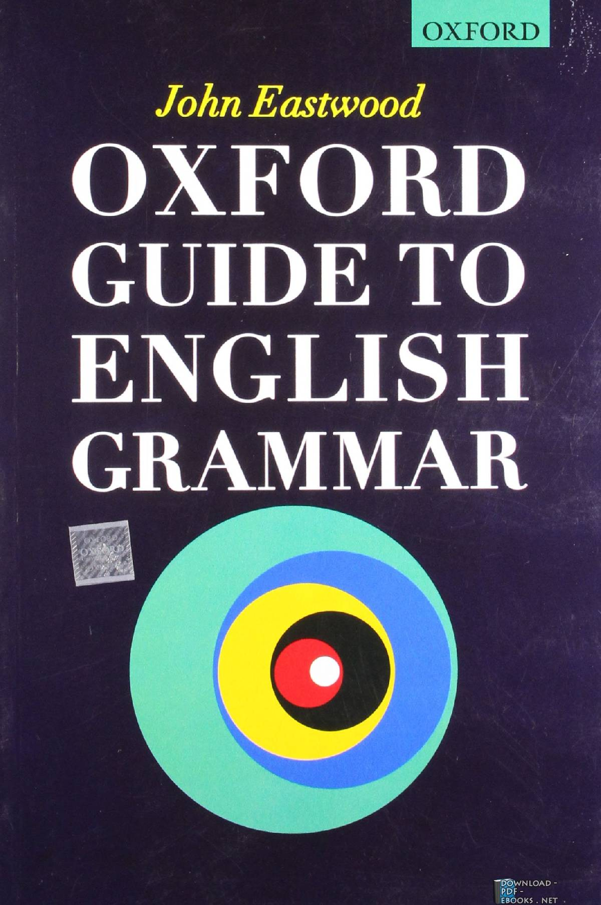 ❞ كتاب  Oxford Guide to English Grammar pdf ❝