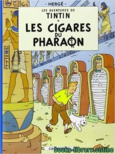 قراءة و تحميل كتاب Les Cigares du Pharaon - Tintin PDF