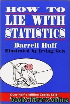 قراءة و تحميل كتاب ملخص كتاب كيف تكذب باستخدام البيانات PDF