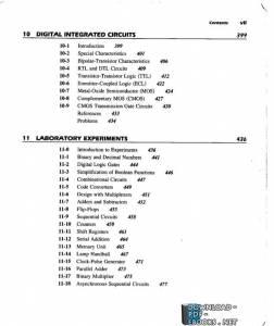 قراءة و تحميل كتاب 10 – Digital Intergrated Circuts BY :M. Morris Mano PDF