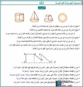 قراءة و تحميل كتاب أساسيات الهندسة الفراغية  PDF